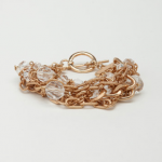 interwined lucite bracelet $8.50