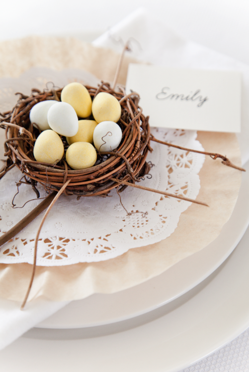 Boxwood Clippings Blog Archive Simple Easter Table Setting