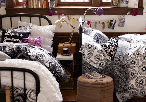 pottery barn college dorm 1