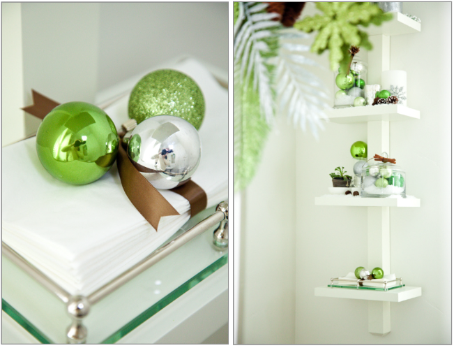 Boxwood Clippings » Blog Archive » Christmas Decorations: Green ...