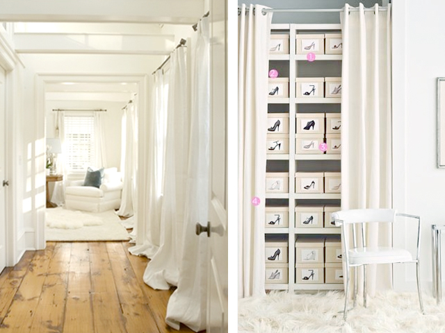 Boxwood Clippings » Blog Archive » Get the Look: White Ikea Curtains - Purple Curtains Ikea
