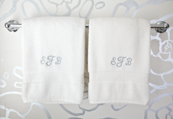 Personalised Wedding Gifts Towels : ... giving these for wedding gifts, as they are personal and affordable