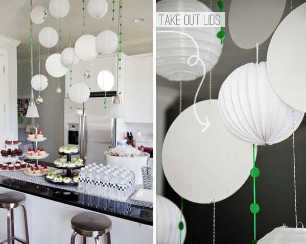 Boxwood Clippings » Blog Archive » A Modern Baby Shower