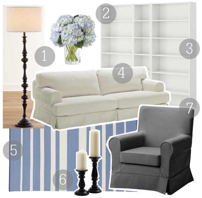 Boxwood clippings blog archive get the look for Something living room 94