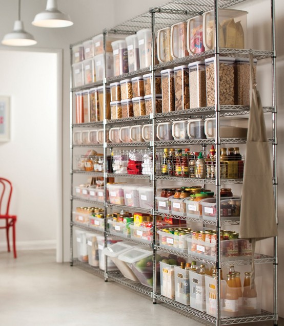 Pantry Storage Organization