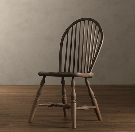 boxwoodclippings_restoration hardware windsor chair