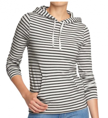 boxwoodclippings_womens stripey hoodie