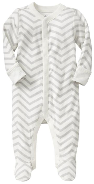 boxwoodclippings_old navy chevron baby-grow