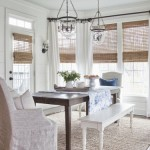 white drapes + bamboo blinds from boxwoodclippings.com