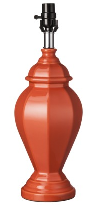 boxwoodclippings_target coral lamp