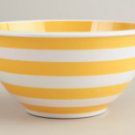 stripey mixing bowl