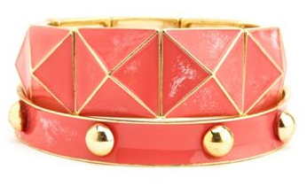 boxwoodclippings_studded bracelet