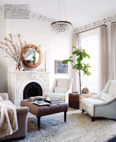 boxwoodclippings_elle decor spring living room