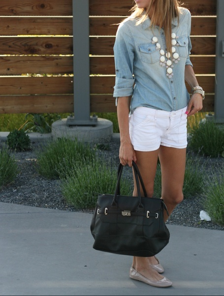 boxwoodclippings_summer outfit + black bag