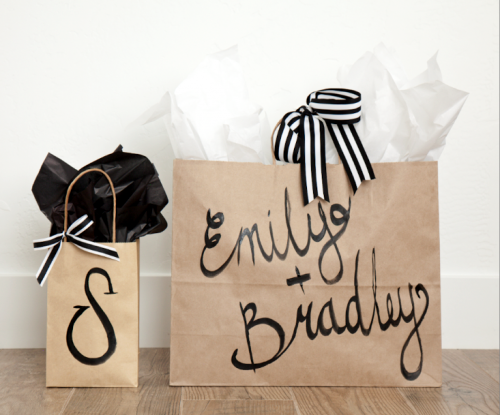 boxwood clippings_diy personalized gift bags