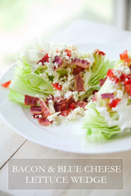 boxwood clippings_bacon and blue salad