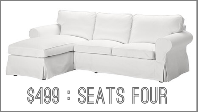Boxwood Clippings Blog Archive The Best $500 Couch Ikea Ektorp