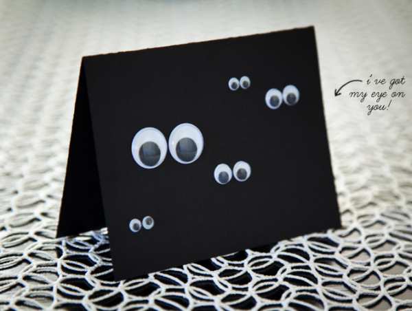 boxwood clippings_diy googly eye card