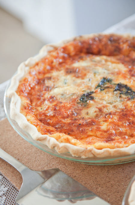boxwood clippings_quiche recipe