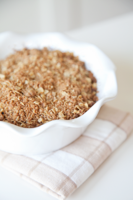 boxwood clippings_apple crumble recipe