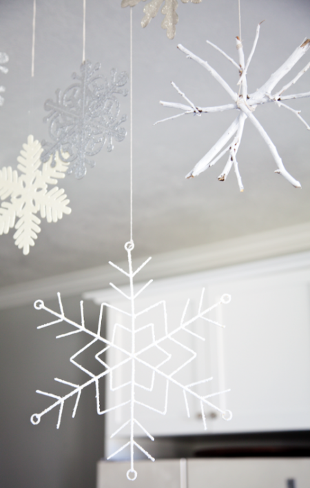 boxwood clippings_diy twig snowflakes