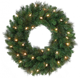 boxwoodclippings_lit wreath