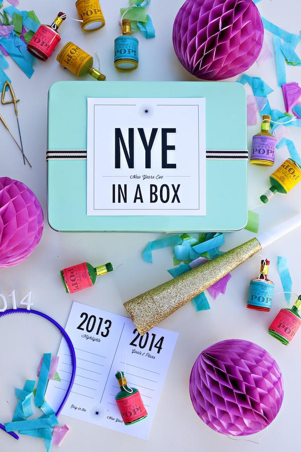 boxwood clippings_new year's eve in a box by you are my fave