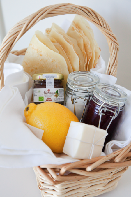Pancake Day Gift Basket