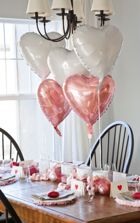 Boxwood Clippings » Blog Archive » Valentine\'s Day Table Setting