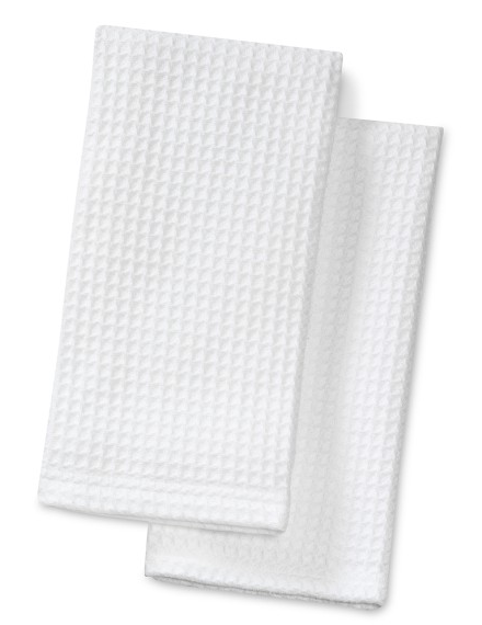 boxwoodclippings_williams-sonoma waffle-weave kitchen towels