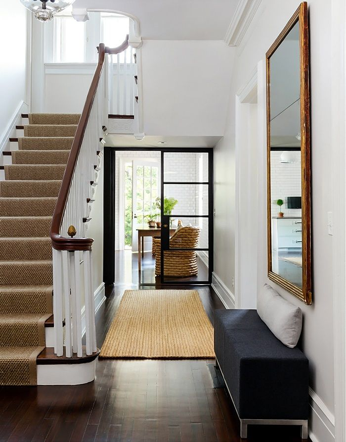 Stairs In Foyer : Boxwood clippings archive interior design a hint