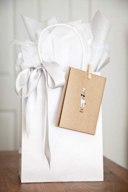 Boxwood Clippings_White Gift Wrap