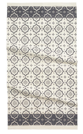 boxwoodclippings_h&m morocan rug