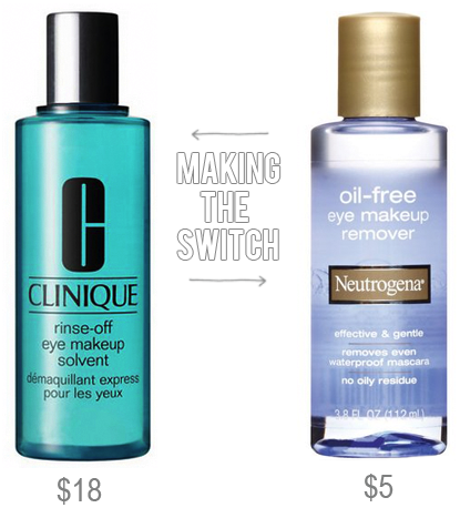boxwood clippings_making the switch, cheaper eye makeup remover