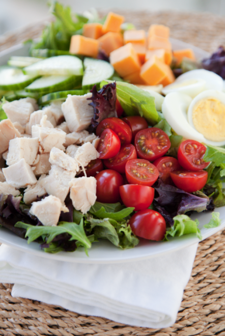 boxwoodclippings_cobb salad