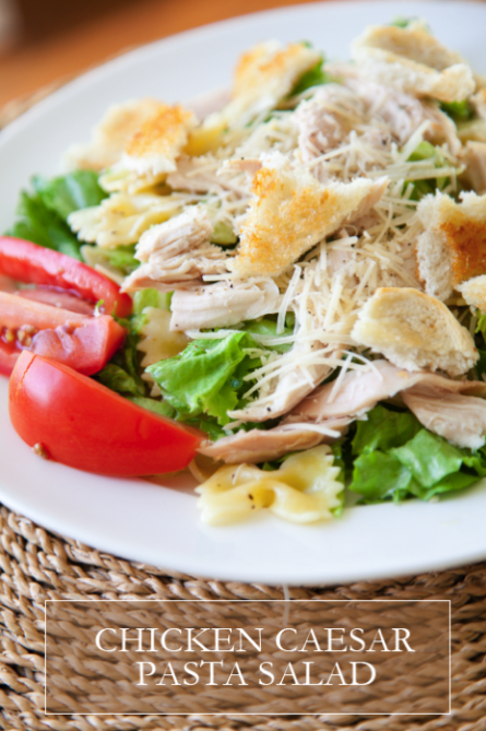 boxwoodclippings_chicken caesar salad