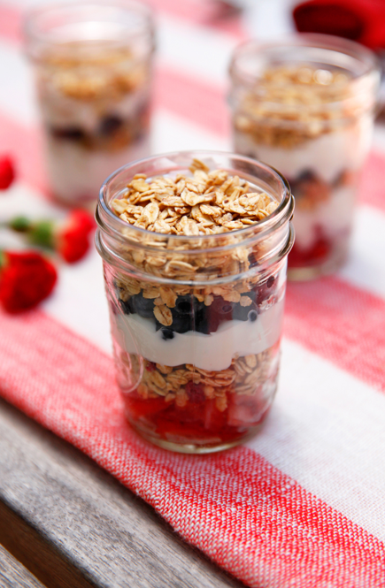 boxwoodclippings_patriotic yogurt parfait