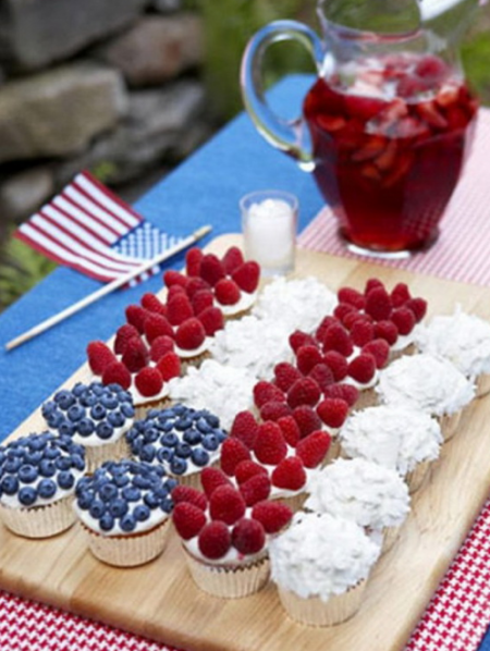 boxwoodclippings_patriotic cupcakes