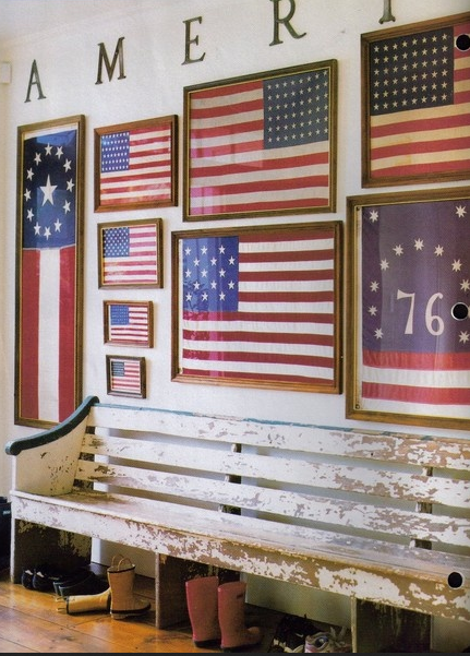 boxwoodclippings_decorating with flags