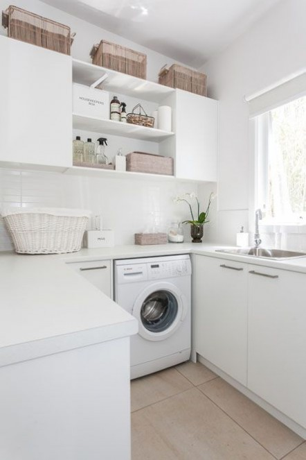 boxwoodclippings_white laundry room