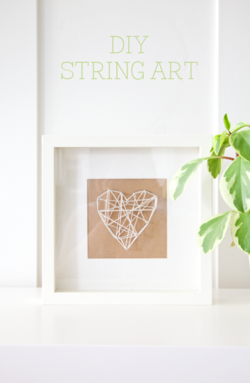 boxwood clippings_diy string art
