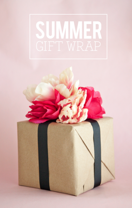 boxwood clippings_summer floral gift wrap