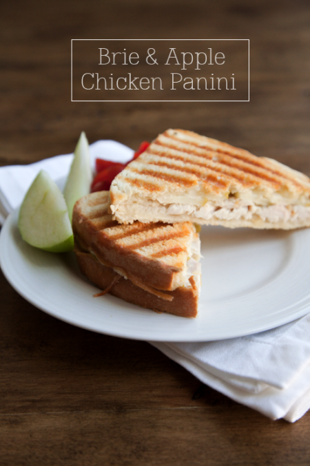 boxwood clippings_fall panini, brie and apple with chicken