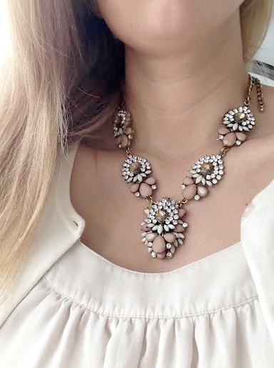 boxwood clippings_$10 statement necklace from walmart