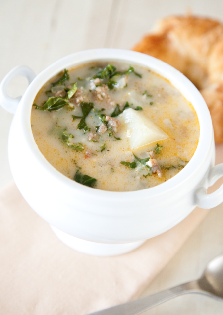 Boxwood Clippings » Blog Archive » Italian Sausage and Kale Soup