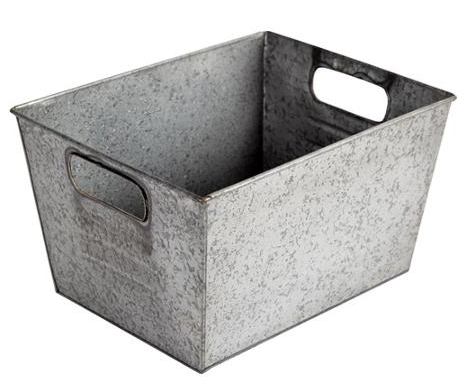 boxwoodclippings_galvanized bin