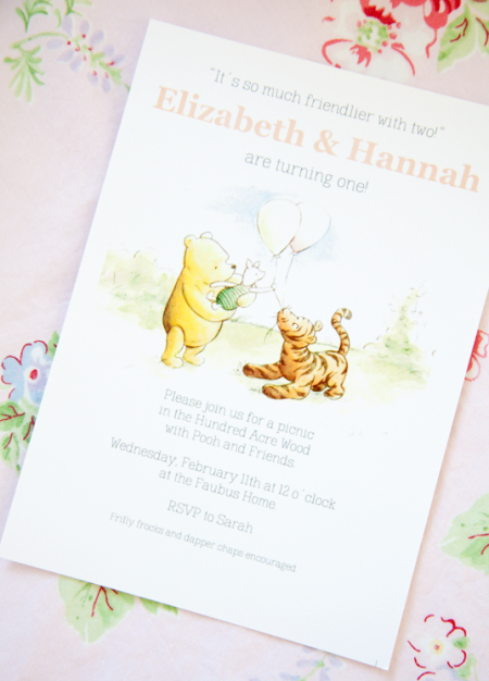 boxwood clippings_twins first birthday