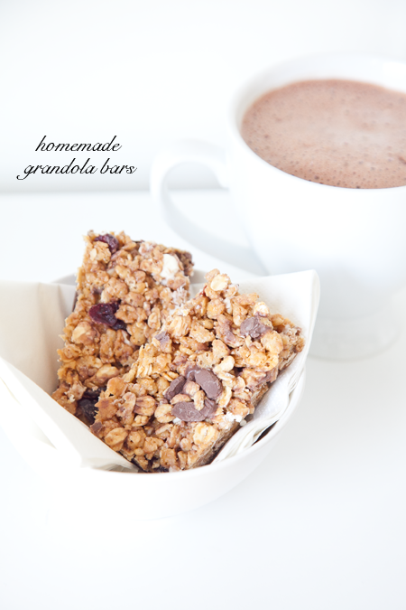 boxwood clippings homemade granola bars