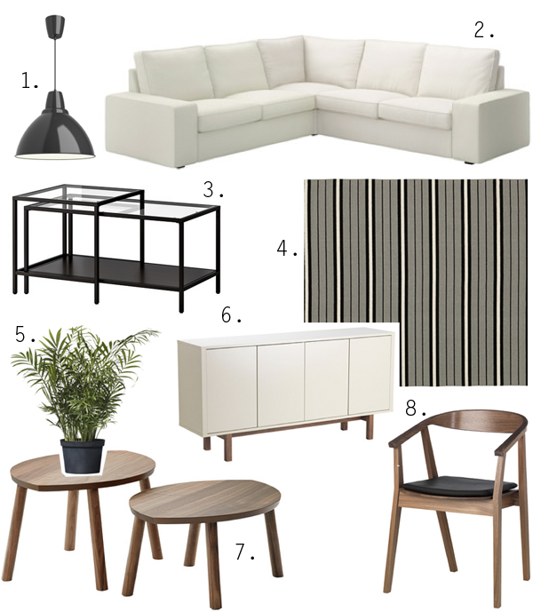boxwood clippings mid century at ikea inspiration board