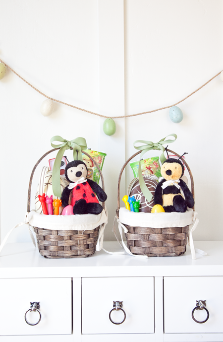 boxwood clippings small child easter basket.png